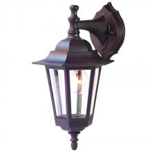 Acclaim Lighting 32ABZ - Tidewater Collection Wall-Mount 1-Light Outdoor Architectural Bronze Light Fixture