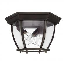 Capital 9802OB - 3 Light Outdoor Ceiling Fixture