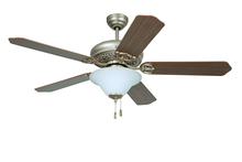 "Ellington Fan MAN52AO5C1 - Manor with Bowl Light Kit 54"" Ceiling Fan with Blades and Light in Athenian Obol"