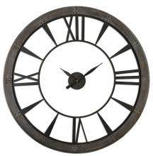 Uttermost 06084 - Uttermost Ronan Wall Clock, Large
