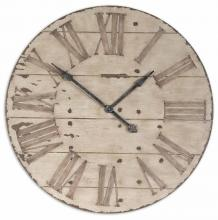 "Uttermost 06671 - Uttermost Harrington 36"" Wooden Wall Clock"