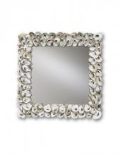 Currey 1348 - Oyster Shell Mirror Square